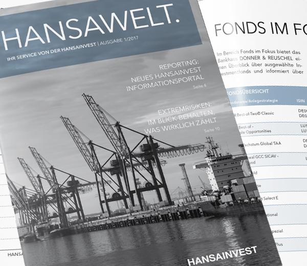HANSAINVEST – Kundenmagazin