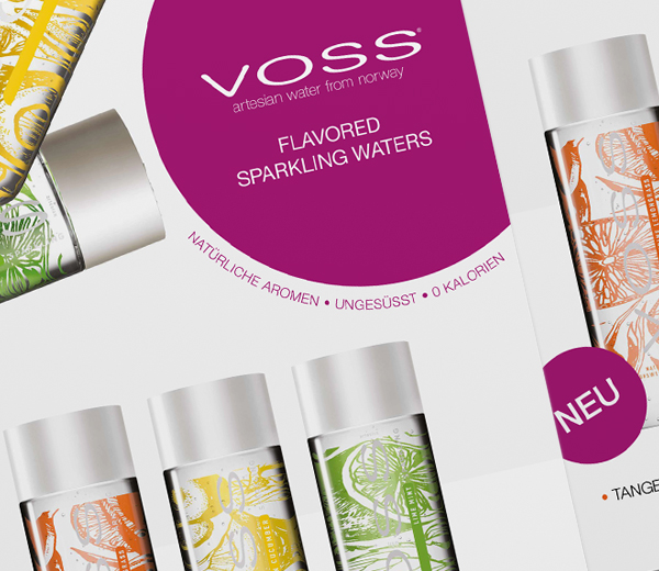 VOSS Flavored Water